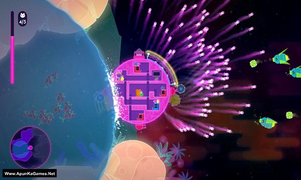 Lovers in a Dangerous Spacetime Screenshot 2, Full Version, PC Game, Download Free