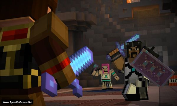 Minecraft: Story Mode Screenshot 1, Full Version, PC Game, Download Free
