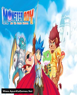 Monster Boy and the Cursed Kingdom Cover, Poster, Full Version, PC Game, Download Free