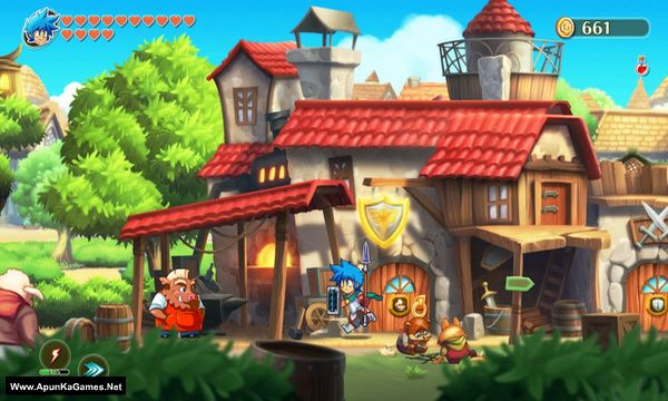 Monster Boy and the Cursed Kingdom Screenshot 1, Full Version, PC Game, Download Free