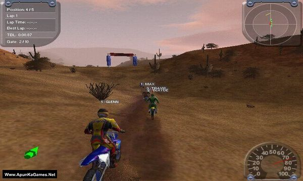 Motocross Madness 2 Screenshot 1, Full Version, PC Game, Download Free