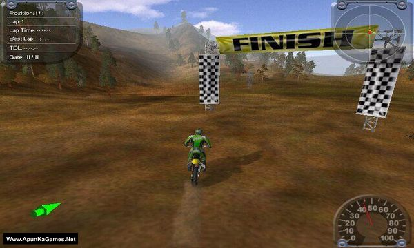 Motocross Madness 2 Screenshot 3, Full Version, PC Game, Download Free