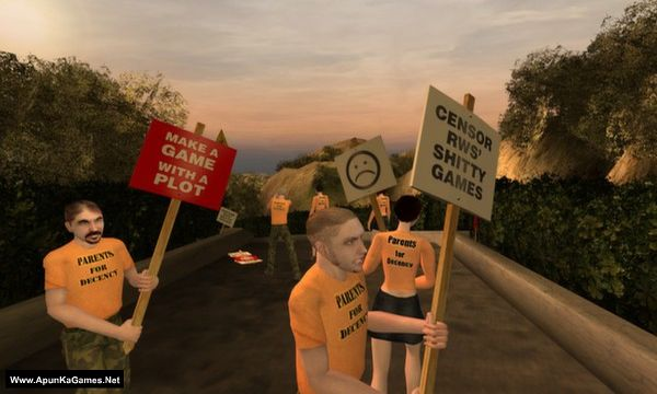 Postal 2 Screenshot 1, Full Version, PC Game, Download Free