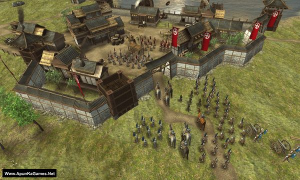 Shogun's Empire: Hex Commander Screenshot 1, Full Version, PC Game, Download Free