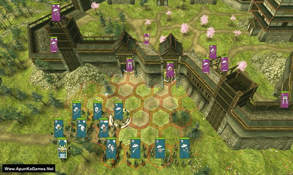 Shogun's Empire: Hex Commander Screenshot 2, Full Version, PC Game, Download Free