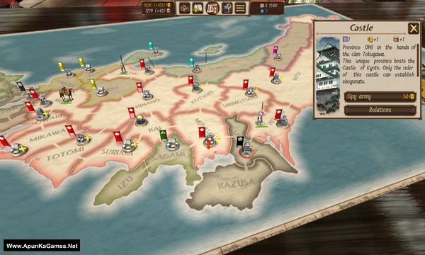 Shogun's Empire: Hex Commander Screenshot 3, Full Version, PC Game, Download Free