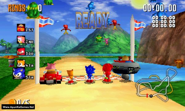 Sonic R Screenshot 1, Full Version, PC Game, Download Free