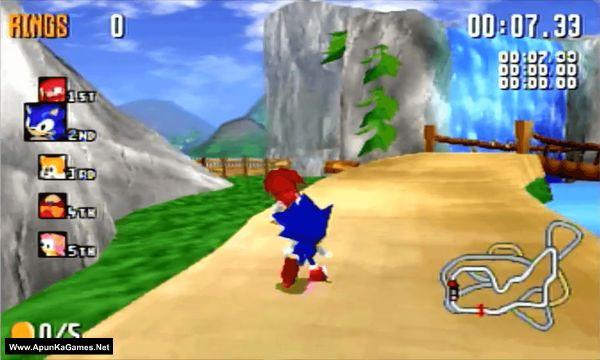Sonic R Screenshot 2, Full Version, PC Game, Download Free