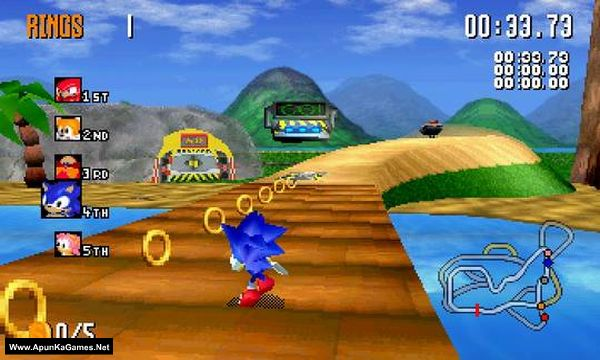 Sonic R Screenshot 3, Full Version, PC Game, Download Free