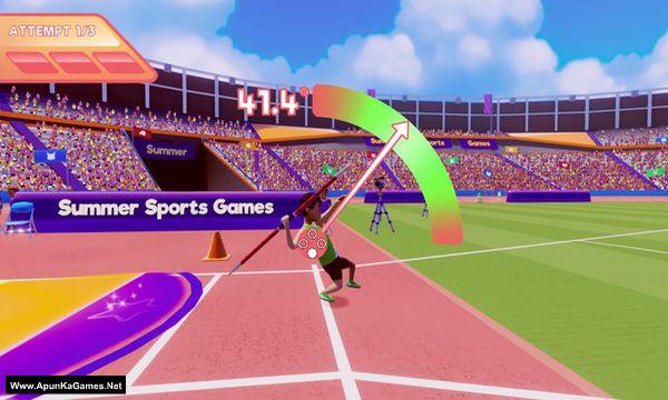 Summer Sports Games Screenshot 2, Full Version, PC Game, Download Free