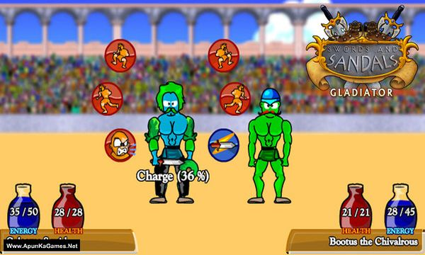 Swords and Sandals Classic Collection Screenshot 1, Full Version, PC Game, Download Free