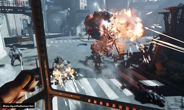 Wolfenstein Cyberpilot Screenshot 2, Full Version, PC Game, Download Free