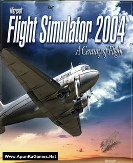 Microsoft Flight Simulator 2004: A Century of Flight Cover, Poster, Full Version, PC Game, Download Free