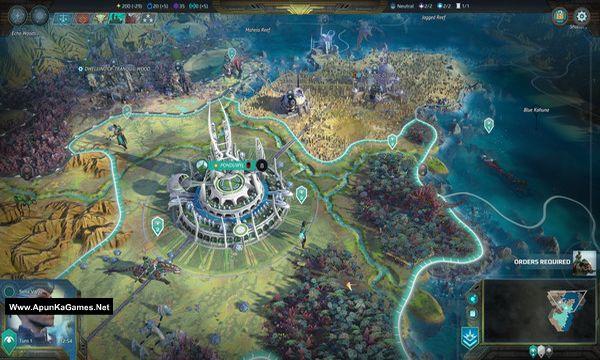 Age of Wonders: Planetfall Screenshot 2, Full Version, PC Game, Download Free