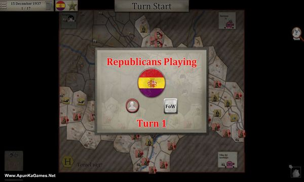 Battles For Spain Screenshot 3, Full Version, PC Game, Download Free