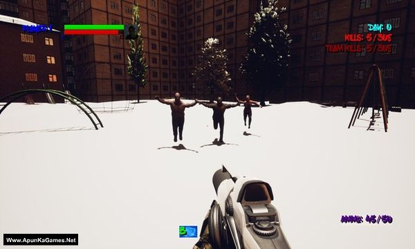 Buck Zombies Screenshot 1, Full Version, PC Game, Download Free