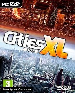 Cities XL 2012 Cover, Poster, Full Version, PC Game, Download Free