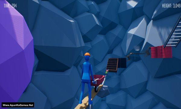 Climb With Wheelbarrow Screenshot 2, Full Version, PC Game, Download Free