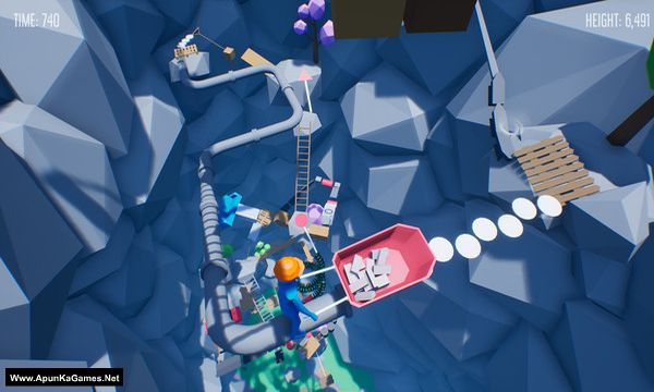 Climb With Wheelbarrow Screenshot 3, Full Version, PC Game, Download Free