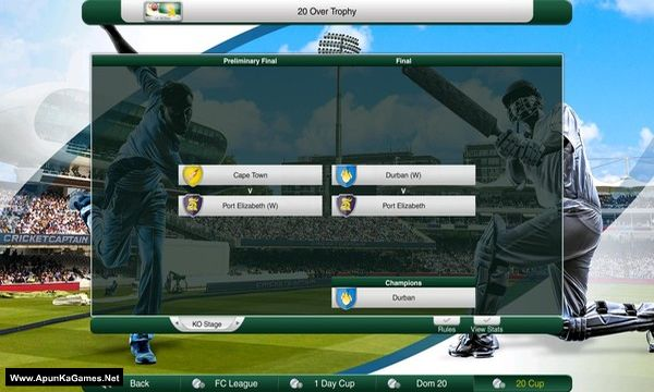 Cricket Captain 2019 Screenshot 3, Full Version, PC Game, Download Free