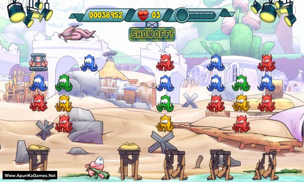 Doughlings: Invasion Screenshot 1, Full Version, PC Game, Download Free