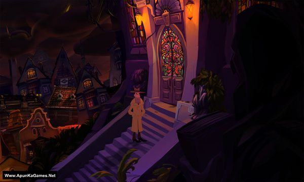 Gibbous - A Cthulhu Adventure Screenshot 2, Full Version, PC Game, Download Free