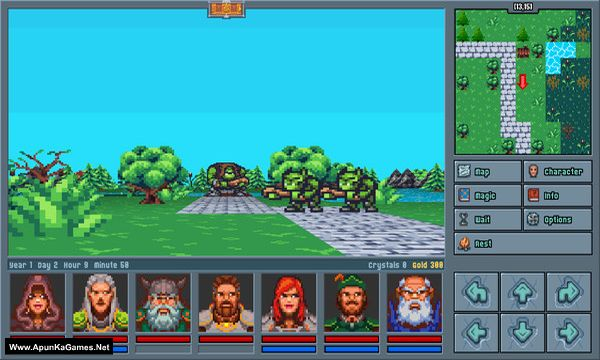 Legends of Amberland: The Forgotten Crown Screenshot 1, Full Version, PC Game, Download Free