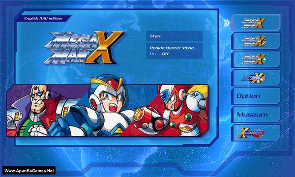 Mega Man X Legacy Collection Screenshot 1, Full Version, PC Game, Download Free