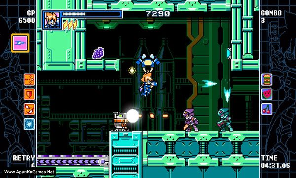 Mighty Gunvolt Burst Screenshot 2, Full Version, PC Game, Download Free