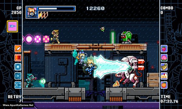 Mighty Gunvolt Burst Screenshot 3, Full Version, PC Game, Download Free
