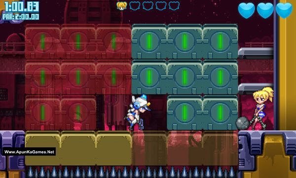 Mighty Switch Force! Collection Screenshot 3, Full Version, PC Game, Download Free