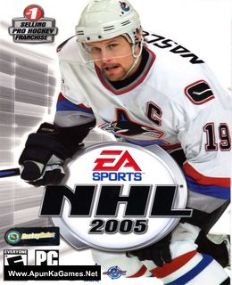 NHL 2005 Cover, Poster, Full Version, PC Game, Download Free