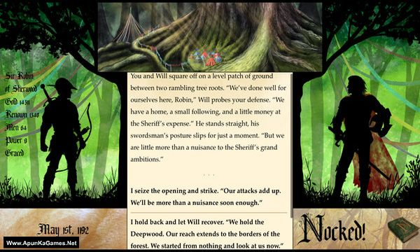 Nocked! True Tales of Robin Hood Screenshot 1, Full Version, PC Game, Download Free
