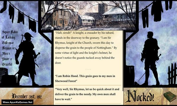 Nocked! True Tales of Robin Hood Screenshot 3, Full Version, PC Game, Download Free