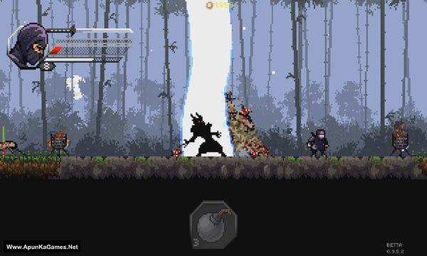 Pixel Shinobi Nine demons of Mamoru Screenshot 1, Full Version, PC Game, Download Free