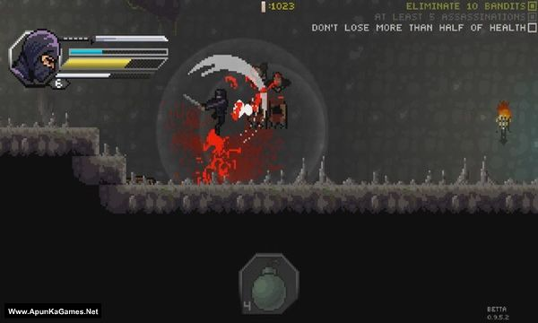 Pixel Shinobi Nine demons of Mamoru Screenshot 2, Full Version, PC Game, Download Free