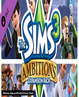 The Sims 3: Ambitions Cover, Poster, Full Version, PC Game, Download Free