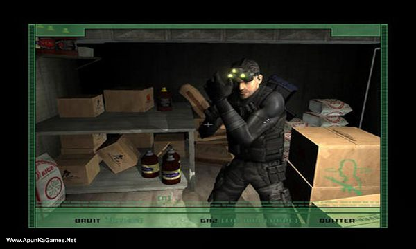 Tom Clancy's Splinter Cell Screenshot 1, Full Version, PC Game, Download Free