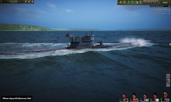 UBOAT Screenshot 1, Full Version, PC Game, Download Free