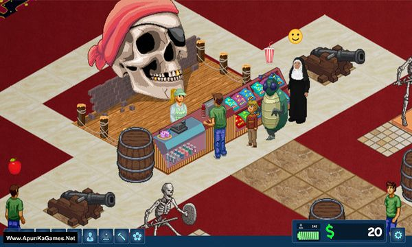 Arcade Tycoon Screenshot 1, Full Version, PC Game, Download Free