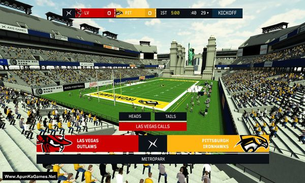 Axis Football 2019 Screenshot 1, Full Version, PC Game, Download Free