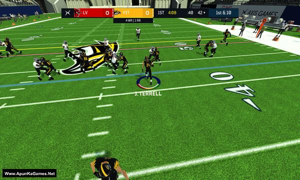 Axis Football 2019 Screenshot 2, Full Version, PC Game, Download Free