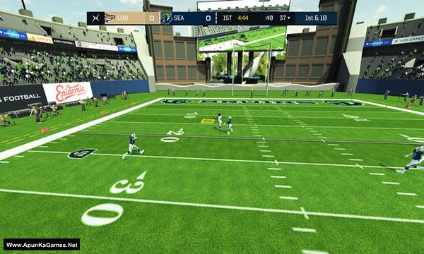 Axis Football 2019 Screenshot 3, Full Version, PC Game, Download Free