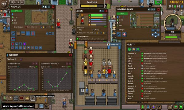 Battle Royale Tycoon Screenshot 2, Full Version, PC Game, Download Free