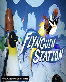 Flynguin Station Cover, Poster, Full Version, PC Game, Download Free