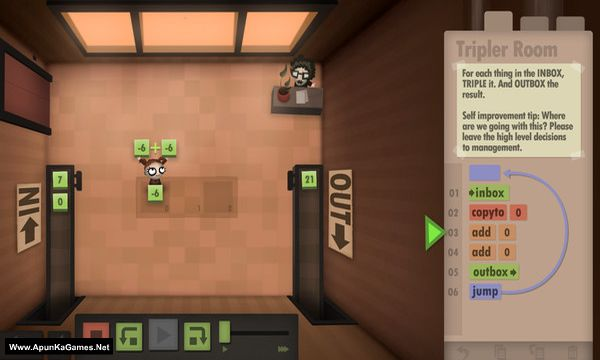 Human Resource Machine Screenshot 1, Full Version, PC Game, Download Free