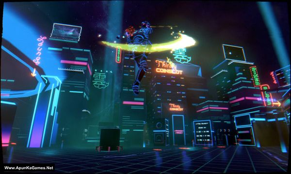Neon Valley: Revenge Screenshot 1, Full Version, PC Game, Download Free