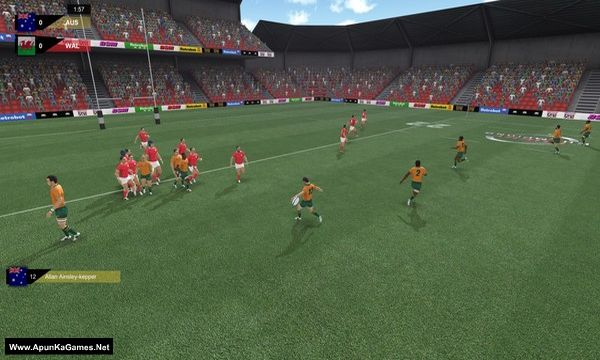 Rugby Champions Screenshot 3, Full Version, PC Game, Download Free