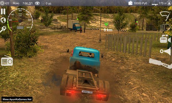 Russian Car Driver 2: ZIL 130 Screenshot 2, Full Version, PC Game, Download Free