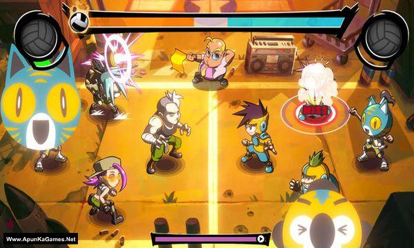 Super Dodgeball Beats Screenshot 1, Full Version, PC Game, Download Free